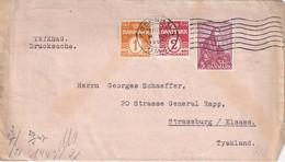 DANEMARK 1940   LETTRE   CENSUREE/ZENSIERT/CENSORED DE  KOPENHAGEN - Cartas