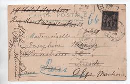 1900 - CP De PARIS Pour DRESDE Avec SAGE -> REEXPEDIEE // AU DOS CHATS HUMANISES - Marcophilie (Lettres)