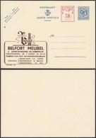 Publibel 1110 - 90C + 30C - Thématique Mobilier (6G23184) DC0693 - Stamped Stationery