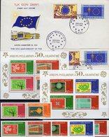 Europarat 1964 Türkei 3491/8,Bl.58/9 **,1901/2+FDC 54€ Mitläufer Flagge Star Flags Blocs M/s Sheets 50years Türkiye - 1921-... République