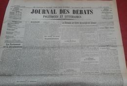 Journal Des Débats Politiques Et Littéraires 29 Septembre 1936 Guerre Espagne Tolède Alcazar Défense De Madrid SDN - Newspapers