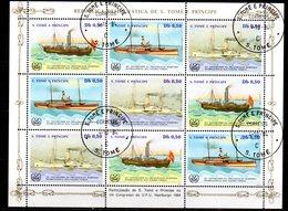 Serie Nº 796/8 En Hb  St Tome Et Principe - Sao Tomé Y Príncipe
