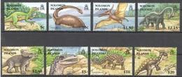 S399 SOLOMON ISLANDS FAUNA PREHISTORIC ANIMALS DINOSAURS 1SET !!! MICHEL 12 EURO !!! MNH - Prehistorics