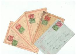 CARTES POSTALES CORRESPONDANCE MILITAIRE POUR SARS - LA - BUISSIERE (BELGIQUE) 1921 - 1914-18
