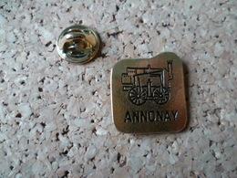 PIN'S  TRAIN  ANNONAY ARDECHE - Transports