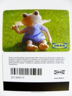 Plastic Magnetic Card Carte IKEA Gift Present Card, Animal Frog - Autres Collections