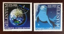 Turkey 2000 Millennium Animals Seals MNH - 1921-... Republic