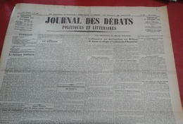 Journal Des Débats Politiques 27 Septembre 1936 Guerre Espagne Bombardement Bilbao Azana,Chine Japon Changhaï - Journaux - Quotidiens