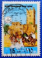 681 LIBYA 115 M 1978 HORSES BERBERS,ARCHITECTURE - USED - Libya