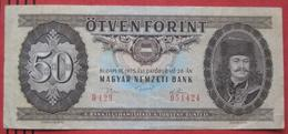 50 / Ötven Forint 1975 (WPM 170c) - Hongrie