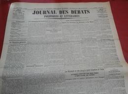 Journal Des Débats Politiques 24 Septembre 1936 Guerre Espagne Tolède Alcazar Salazar Alonso Bilbao, Ethiopie SDN - Journaux - Quotidiens
