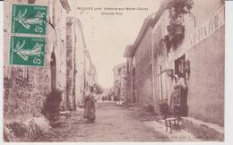 ROQUES . . GRANDE RUE . COMMERCE . 1909 . RARE - France