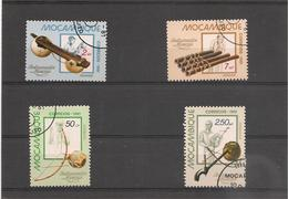 MOZAMBIQUE  Instruments De Musique Année 1981 N° Y/T : 796/800 Oblitérés - Mozambique
