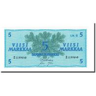 Billet, Finlande, 5 Markkaa, 1963, KM:99a, NEUF - Finlande