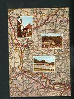 CPM -71- BOURBON-LANCY - MULTI-VUES & CARTE - - France