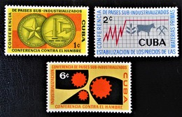 CONFERENCE PAYS SOUS-INDUSTRIALISES 1961- NEUFS * - YT 550/52 - MI 696/98 - Unused Stamps