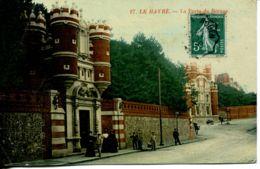 N°66236 -cpa Le Havre -la Porte De Burgos- - Le Havre
