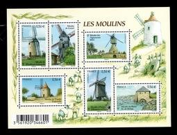 YV 4486 à 4490 / F4486 N** Moulins - Prix = Faciale - Neufs