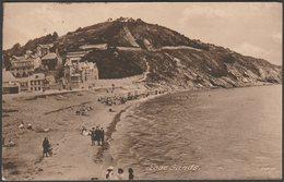 Looe Sands, Cornwall, 1925 - Isbell Postcard - England