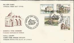 CYPRUS TURKISH, MOSQUES, FDC - Islam