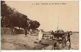 GAO  -  Chalands Sur Le Bords Du Niger - Mali
