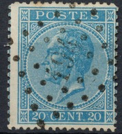 Nr. 18 - Jameigne - 1865-1866 Profile Left