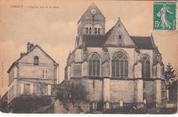 ORROUY  L'Eglise Vue De La Route - France