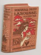 PUB LAROUSSE / CALENDRIER 1938 / ENVIRON 6X8.5CM B715 - Pubblicitari