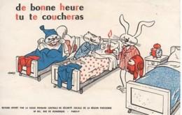 De Bonne Heure Tu Te Coucheras (caisse Primaire De La Sécurité Sociale) - Enfants