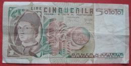 5000 Lire 1979 (WPM 105b) Ausgabe 1980 - [ 2] 1946-… : Républic