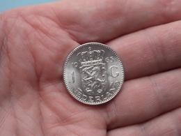 1963 - 1 Gulden ( KM 184 ) Uncleaned ! - 1948-1980 : Juliana