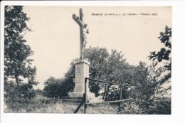 Carte De Bourré Le Calvaire Mission 1910 ( Recto Verso ) - France