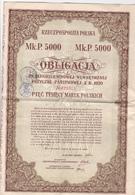 Obligations Pologne 3 Feuilles - Non Classés