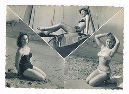 PIN - UPS . BATH GIRLS . Jeune Fille En Maillot De Bain . - Pin-Ups