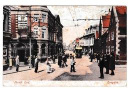 Jolie CPA Coul. Animée Croydon (Londres, Angleterre), North End. A Voyagé En 1911 - London