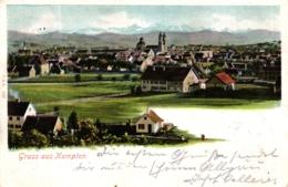 Kempten, Gesamtansicht, 1900 - Kempten