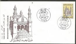 ALGERIE MOSQUES, FDC - Islam