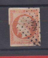 N  16  /   40 Centimes  Orange / Oblitéré - 1853-1860 Napoleon III
