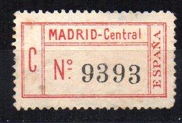 Etiqueta Madrid-central. - Otros