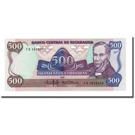 Billet, Nicaragua, 500 Cordobas, 1985, KM:144, NEUF - Nicaragua