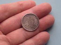 1898 - 1 Franc ( KM 844.1 ) Uncleaned ! - H. 1 Franc