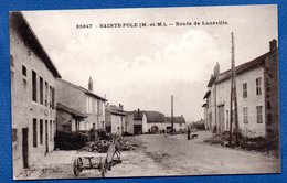 Ste Pole  -  Route De Lunéville - France
