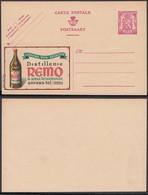 """Publibel 616 - 75C - Thématique Liqueur, Vins, Apéritifs """" Distillerie Remo """" (6G23184) DC0716 - Stamped Stationery"""