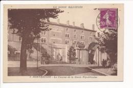 Carte  De  Montbrison  La Caserne De La Garde Républicaine  ( Recto Verso ) - Montbrison