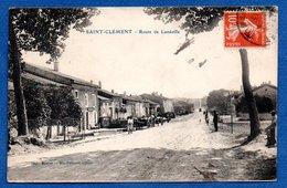 St Clément  -  Route De Lunéville - France