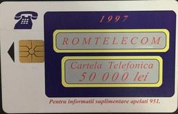 Paco \ ROMANIA \ RO-ROM-0022A,B,C Rara Chip Red \ Abstract Design \ Usata - Romania