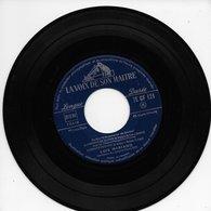"""Luis Mariano 45t. EP """"chemin De Gloire"""" Musique Du Film L'aventurier De Seville - Vinyl Records"""