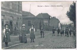 Mortsel - Statie - Deurne Steenweg 1909  (Geanimeerd) - Mortsel