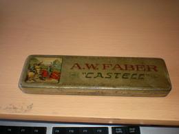 Pencil Box,A W Faber Castell  Stein Bei Nurnberg Tin - Altre Collezioni