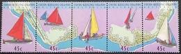 Cocos (Keeling) Islands 1994 Junkong Sailing Craft - Cocos (Keeling) Islands